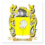 Balthasard Square Car Magnet 3
