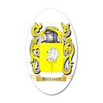 Balthasard 35x21 Oval Wall Decal