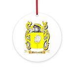 Balthasard Ornament (Round)