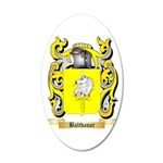 Balthasar 20x12 Oval Wall Decal