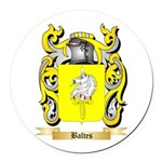 Baltes Round Car Magnet