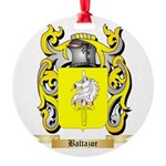 Baltazor Round Ornament