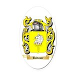 Baltasar Oval Car Magnet