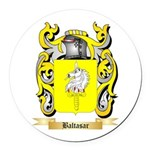 Baltasar Round Car Magnet