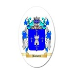 Balster 20x12 Oval Wall Decal