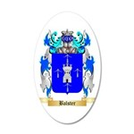 Balster 35x21 Oval Wall Decal