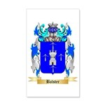 Balster 35x21 Wall Decal