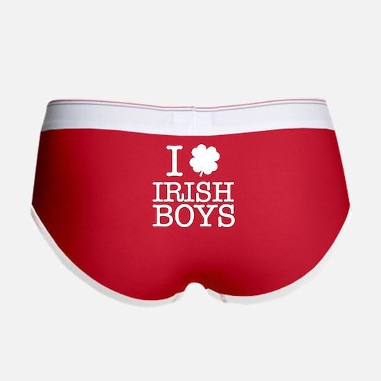 I Shamrock Irish Boys Women's Boy Brief