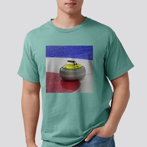 Curling stones 3 Mens Comfort Colors Shirt