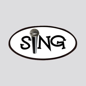 Sing with Microphone Patches