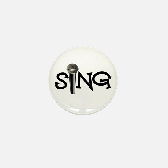 Sing with Microphone Mini Button