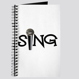 Sing with Microphone Journal