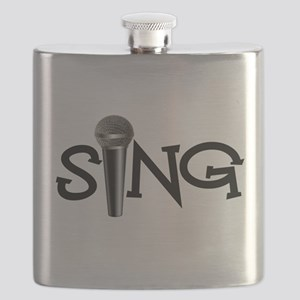 Sing with Microphone Flask