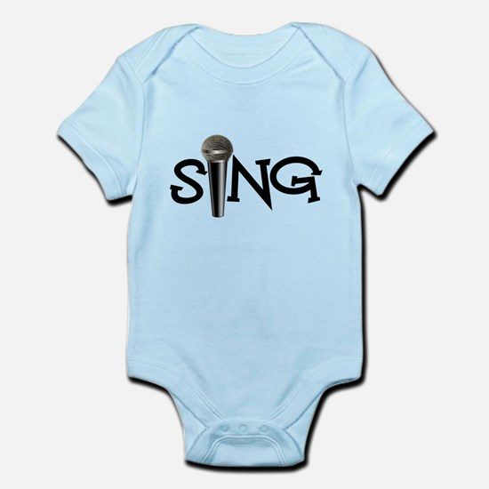 Sing with Microphone Body Suit
