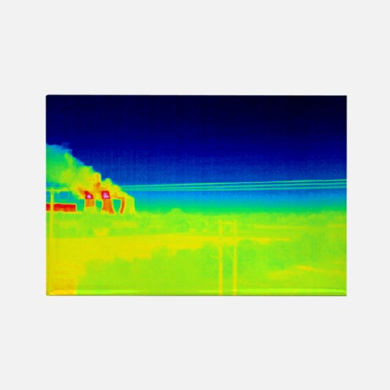 , thermogram - Rectangle Magnet (10 pk)