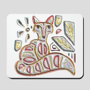 FANCY THE FOX Mousepad