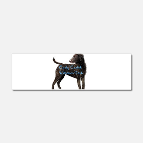 Curly Coated Retriever Car Magnet 10 x 3