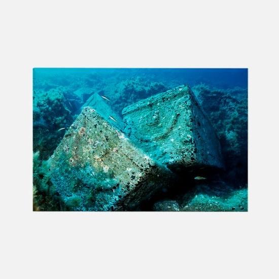 Marine archaeology - Rectangle Magnet (10 pk)
