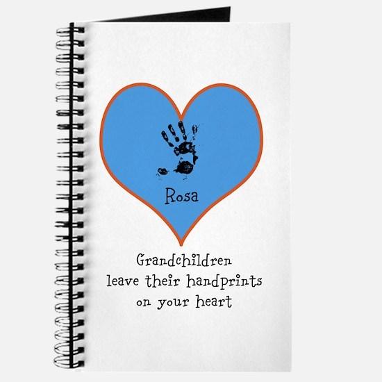 handprints on your heart - 1 grandchild Journal