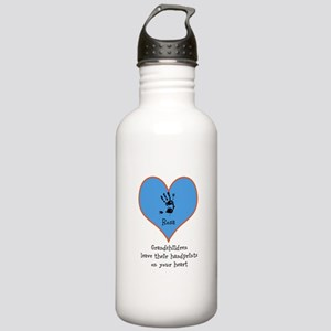 handprints on your heart - 1 grandchild Water Bott