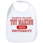 Santa Toy Making University Bib