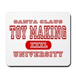 Santa Toy Making University Mousepad