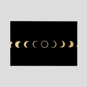 olar eclipse - Rectangle Magnet (10 pk)