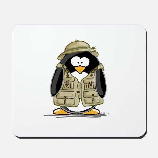 Safari Penguin Mousepad