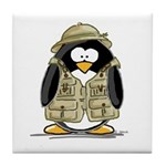Safari Penguin Tile Coaster