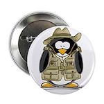 Jungle Safari Penguin Button