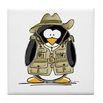 Jungle Safari Penguin Tile Coaster