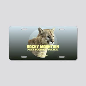 Rocky Mountain NP Aluminum License Plate