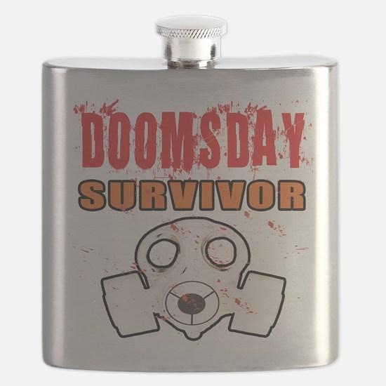 DOOMSDAY SURVIVOR Flask