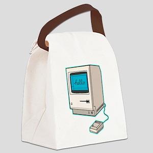Classic Mac Canvas Lunch Bag