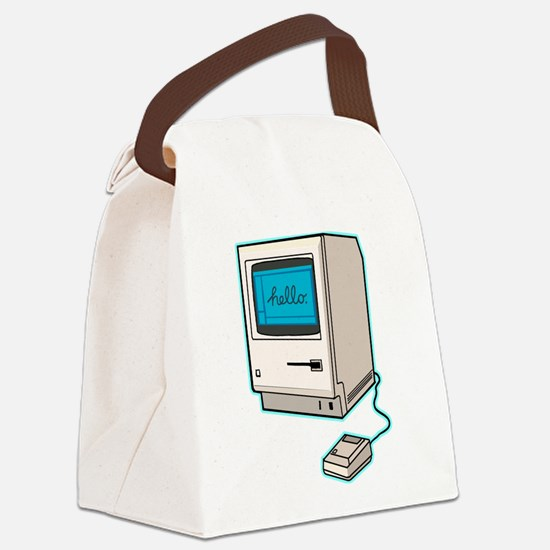 Classic Mac Canvas Lunch Bag