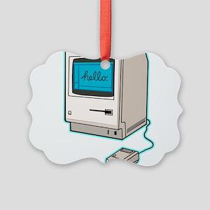 Classic Mac Picture Ornament