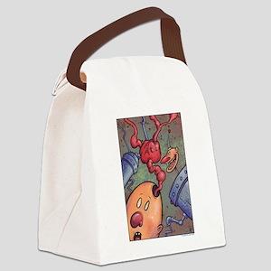 BRAINIAC Canvas Lunch Bag