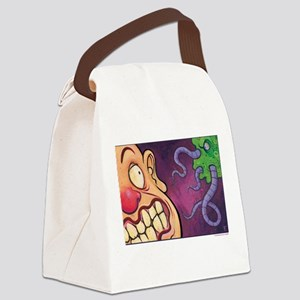 Space Tentacles Canvas Lunch Bag