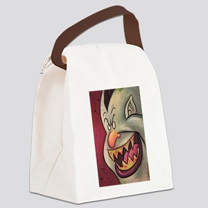 Vampire cartoon Canvas Lunch Bag