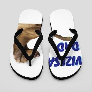 vizsla Flip Flops