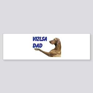 vizsla Sticker (Bumper)