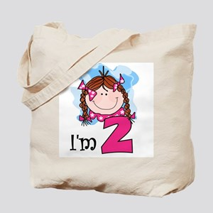 I'm 2 Redhead Girl Tote Bag