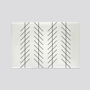 Zoellner illusion - Rectangle Magnet (10 pk)