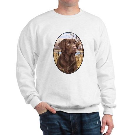 smittyts chocolate lab shirt Sweatshirt