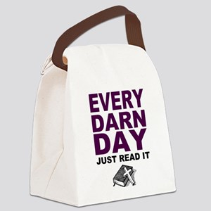 Every Darn Day Canvas Lunch Bag
