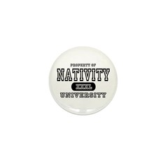 Nativity University Mini Button (10 pack)