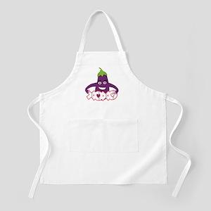 Emoji Eggplant XOXO Light Apron