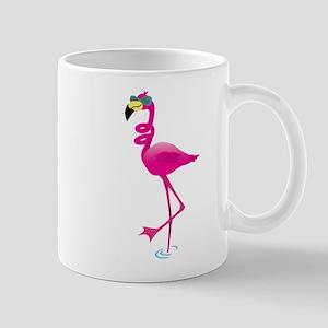 Cool Pink Flamingo Mugs