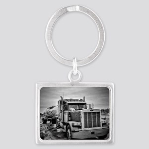 Big Red On The Job Landscape Keychain