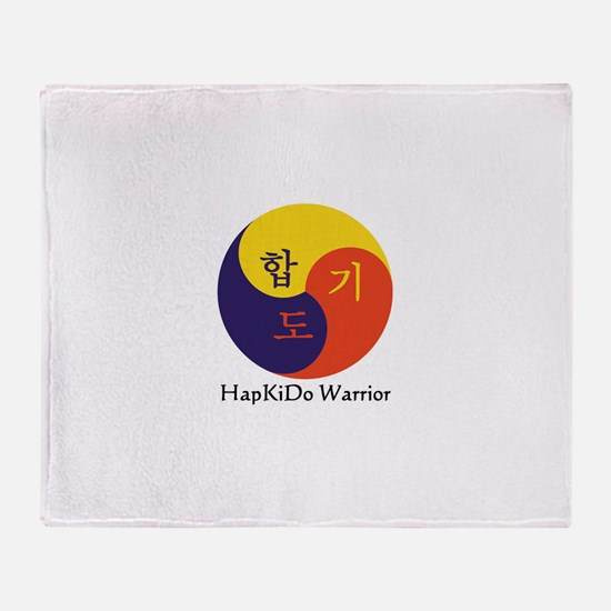 Cute Hapkido Throw Blanket